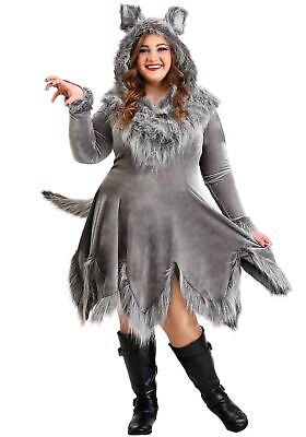 Costume Women's Wolf Plus - Womens Wolf Kostüme