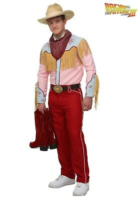 Back To The Future Costume (MEN'S BACK TO THE FUTURE III COWBOY MARTY MCFLY COSTUME SIZE MEDIUM)