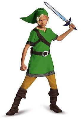 Child Link Costume (Child Link Legend of Zelda)