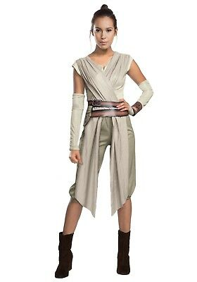 ADULT DELUXE STAR WARS THE FORCE AWAKENS REY COSTUME SIZE XL 16-20 (with defect) - 20 Star Halloween Costumes