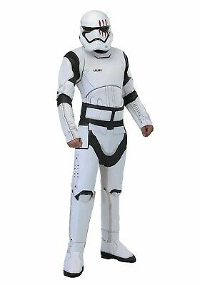 ADULT STAR WARS FINN STORMTROOPER COSTUME USED SIZE STANDARD or XL (with defect)