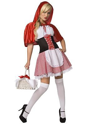 Sexy Adult Red Riding Hood - Adult Red Riding Hood Kostüm