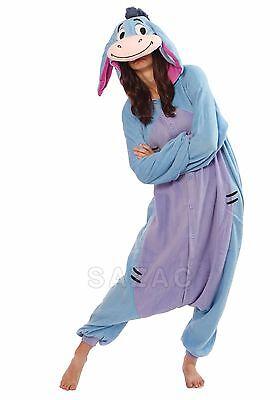 SAZAC Eeyore Kigurumi - Adult Costume from USA
