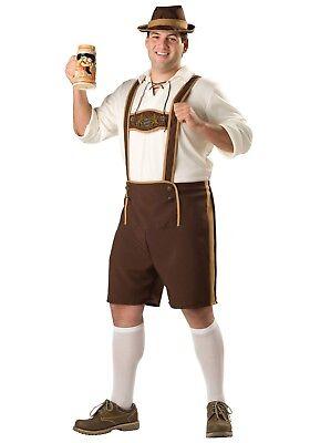 USED PLUS SIZE BAVARIAN GERMAN GUY COSTUME SIZE 2X](German Guy Costume)