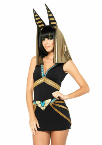 Halloween Costume Womans Adult sexy Anubis Leg Avenue size M - L NEW