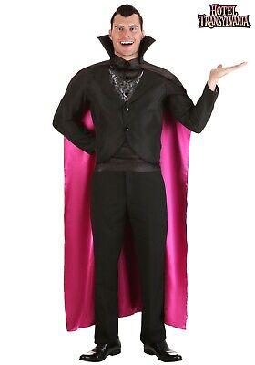Hotel Transylvania Dracula Costume (MEN'S HOTEL TRANSYLVANIA DRACULA VAMPIRE COSTUME SIZE LARGE (missing)