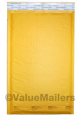 3 Bubble Lite 8.5x14.5 Kraft Bubble Mailers Padded Envelopes Bags 100 To 2000