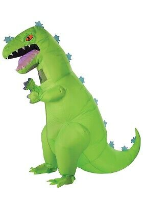 ADULT INFLATABLE RUGRATS REPTAR COSTUME SIZE STANDARD (missing glove)](Rugrats Costumes)