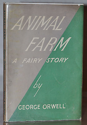 Vialibri 1st 1st Uk Edition W Original Dust Jacket Animal Farm George Orwell
