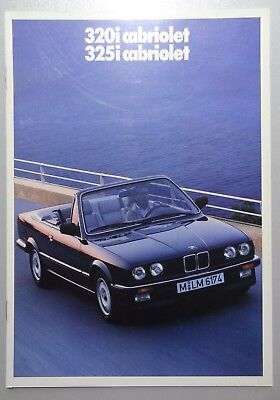 V01349 BMW SERIE 3 CABRIOLET 320i & 325i