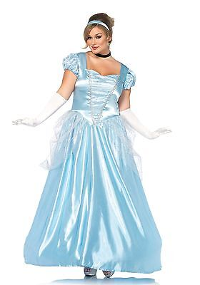 LAG Leg Avenue 85518X Damen Kostüm Classic Cinderella Asche Märchen  - Asche Kostüm