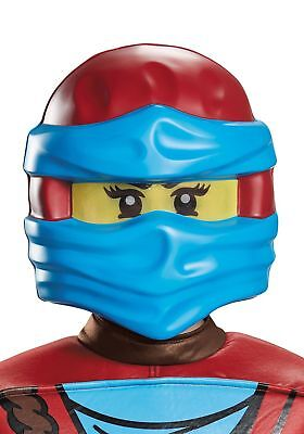 Ninjago Nya Halloween Costumes (Nya Mask Lego Ninjago Ninja Fancy Dress Up Halloween Child Costume Accessory)