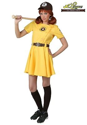WOMEN'S A LEAGUE OF THEIR OWN KIT COSTUME SIZE XS (w/ defect)](A League Of Their Own Costumes)