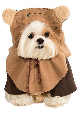 Ewok Star Wars Pet Costume Dog Movie Treadmill Cute Funny Return Of The Jedi