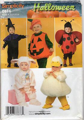 ©2010 UNCUT Simplicity Halloween Pattern #0816