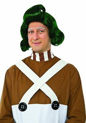 Adult Willy Wonka Costume (Adult Oompa Loompa Wig Willy Wonka Chocolate)