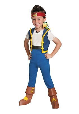 OFFICIAL DISNEY JAKE NEVERLAND PIRATES BOYS SIZE 4 HALLOWEEN COSTUME JACKET ONLY ()