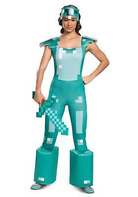 Female Minecraft Adult Armor (Female Adult Kostüm)