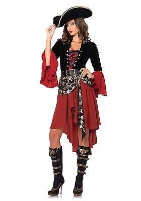 LAG Leg Avenue 85214 Sexy Damen Kostüm Pirat Captain Cruel Seas Seeräuber S-L