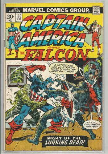 CAPTAIN AMERICA # 166 * MARVEL COMICS * 1973