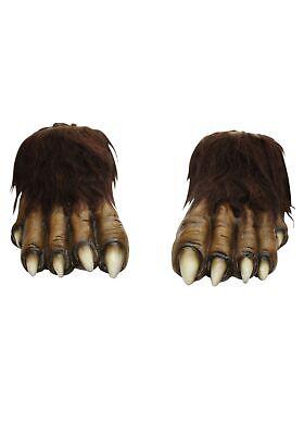 Adult Wolf Feet - Wolf Feet