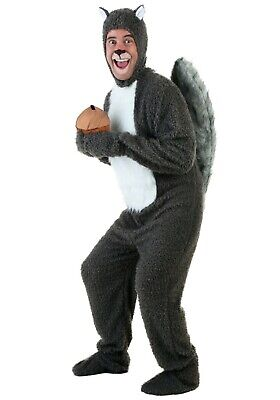 ADULT SQUIRREL COSTUME SIZE STANDARD (with defect) - Costume Squirrel