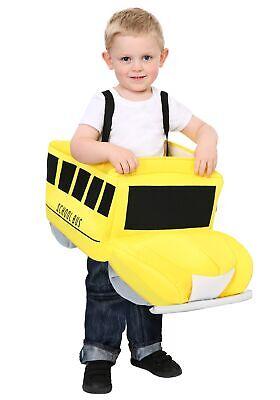 Ride In School Bus Toddler Costume - School Bus Costume