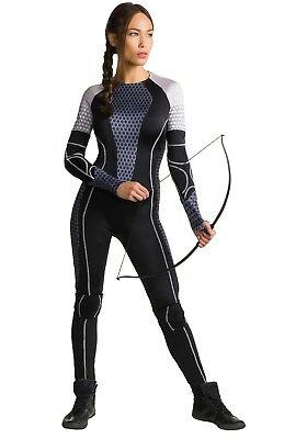 ADULT KATNISS CATCHING FIRE COSTUME SIZE MEDIUM  (missing knee pads)](Katniss Catching Fire Halloween Costume)