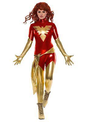 Red Phoenix Costume (Adult Women's Red Phoenix)