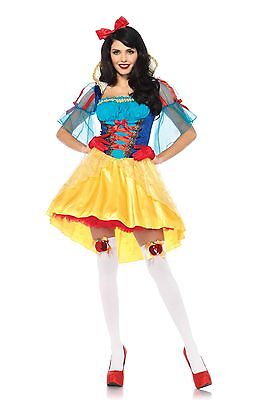 LAG Leg Avenue 85583 Storybook Snow White Schneewittchen Damen Kostüm S - XL