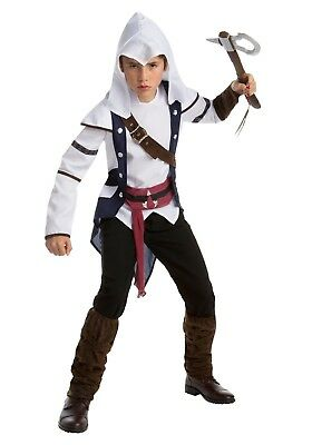 Assassins Creed Costume Kid Size (KIDS ASSASSINS CREED CLASSIC CONNOR COSTUME SIZE 14-16 (tunic top)