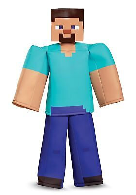 Boys Minecraft Steve Prestige Costume](Minecraft Steve Costumes)