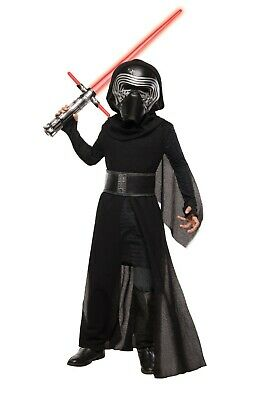 KYLO REN SUPER DELUXE BOYS COSTUME SIZE MEDIUM (5-7) Used