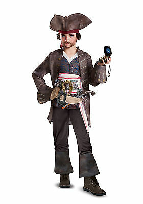 Pirates of the Caribbean - Dead Men Tell No Tales - Jack Sparrow Deluxe Child - Jack Sparrow Kids Costume