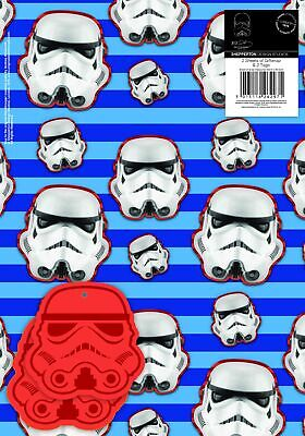 Stormtrooper Wrapping Paper - 2 Sheets of Giftwrap and 2 Tags