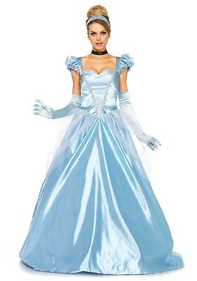 LAG 85518 Leg Avenue Damen Fasching Kostüm Cinderella Classic Märchen Figur