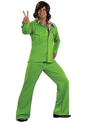 MEN'S GREEN LEISURE SUIT SIZE STANDARD (up to - Green Leisure Suit Kostüm