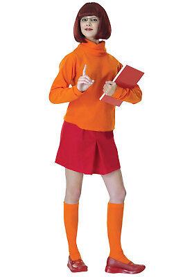 Velma Adult Costume - Scooby Doo Halloween Costume (Halloween Costumes Scooby Doo)