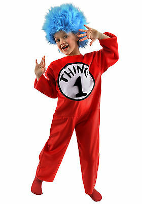Thing 1 Costumes (Thing 1 & 2 Deluxe Child Costume -)