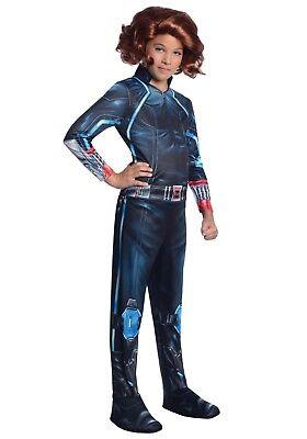 Avengers Age of Ultron Black Widow Girl's Costume - Size Small - Black Widow Girl Costume