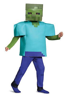 Minecraft - Deluxe Zombie Child Costume