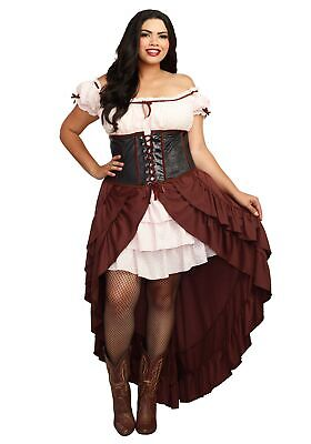 Plus Size Saloon Costumes (Saloon Girl Women's Plus Size)
