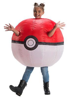 Kids Pokemon Costume (Pokemon - Child Inflatable Pokeball)