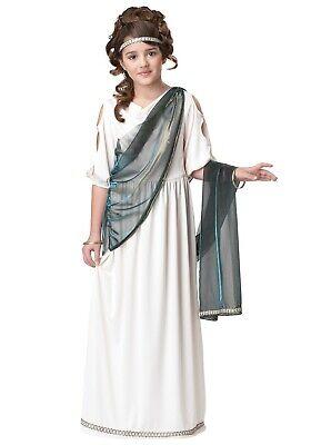 Girls Roman Goddess Costume (CHILD GIRLS ROMAN GREEK PRINCESS EMPRESS GODDESS COSTUME SIZE XL (with)