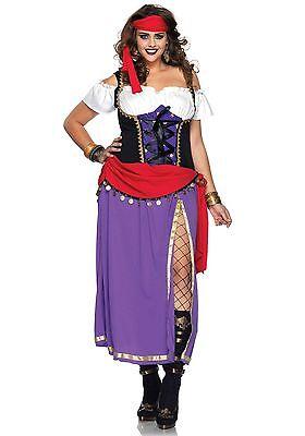 LAG Leg Avenue 85014X Fasching Damen Kostüm Zigeunerin Wahrsagerin Travel Gypsy