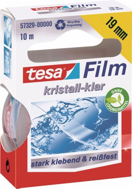 Tesa tesafilm Ersatzrolle kristall-klar 57329, 10m x 19mm