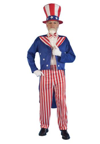 Uncle Sam - Adult Costume - Patriotic