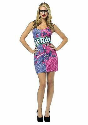 New Adult Nestle Nerds Candy Dress Halloween Custome For Fancy - Adult Halloween Custom