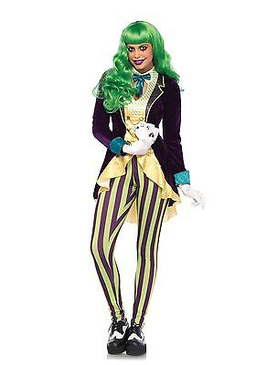 LAG Leg Avenue 85589 Fasching Damen Kostüm Wicked Trickster Woman Frau Joker    ()