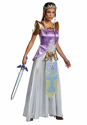 Legend of Zelda - Deluxe Princess Zelda Adult Costume